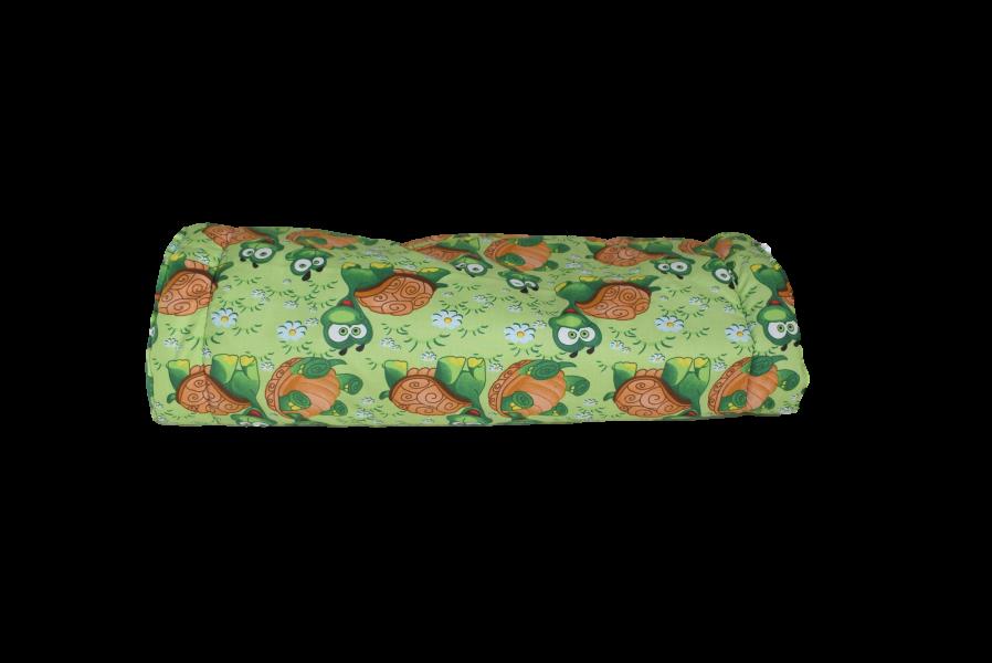 Rascheltunnel - Knister Effekt - Schildkröte / Grün